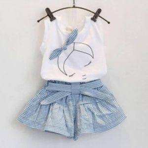 Other - Girl short sets 3t-7